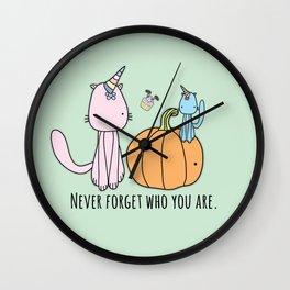 Happy Halloween Ghost Wall Clock