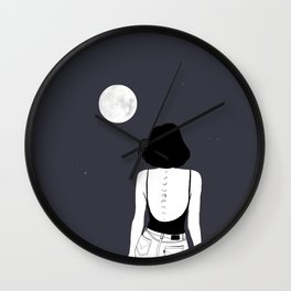 Am a moon like Wall Clock