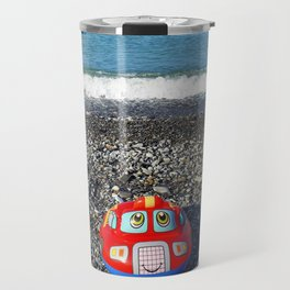 Postcard from the sea Travel Mug