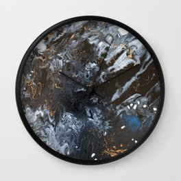 Freedom from Oil Part 1 Wall Clock