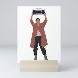 Say Anything... 80s movie Mini Art Print