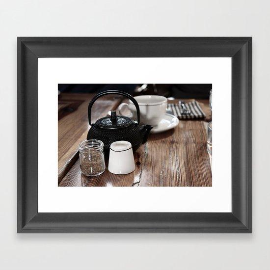 Tea Pot Framed Art Print
