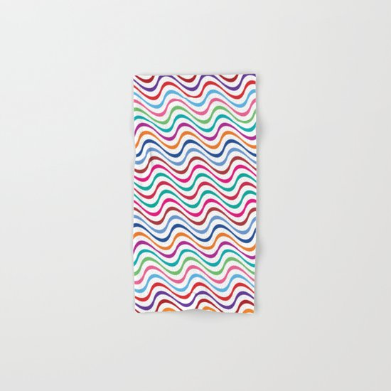 Rippling Colors Hand & Bath Towel