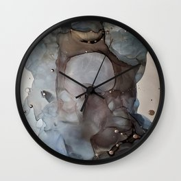 Mechanical Tears Wall Clock
