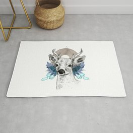 The Deer (Spirit Animal) Rug
