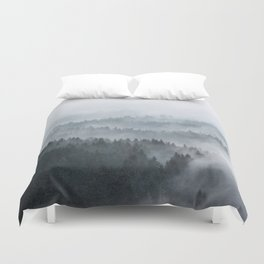 The Waves Duvet Cover
