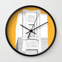 Substation No.43 - Apricot Wall Clock