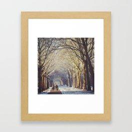 Dutch Winter Wonderland  Framed Art Print