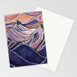 Peaks to the East, Revelstoke Stationery Cards