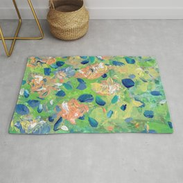 Just Because - Abstract floral Rug