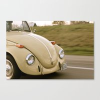 vw Canvas Prints featuring VW by Tiffany Scully