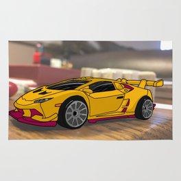 Super car of Endless Possibilites Rug