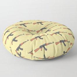 ak47 pattern logo Floor Pillow