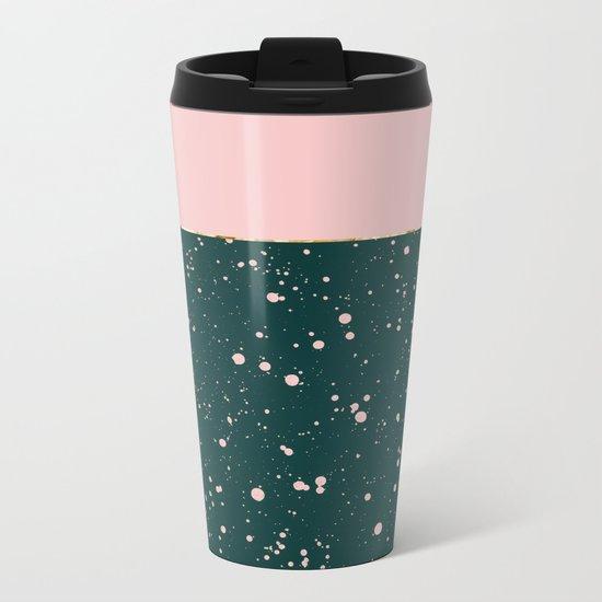 XVI - Rose 1 Metal Travel Mug