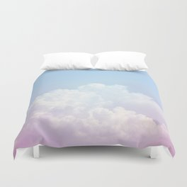 Dreamy Cotton Blue Sky Duvet Cover