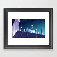 Who Is That? Framed Art Print