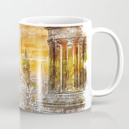Edinburgh cityscape Coffee Mug