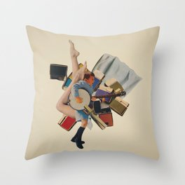Pinky's Out Of Jail Throw Pillow