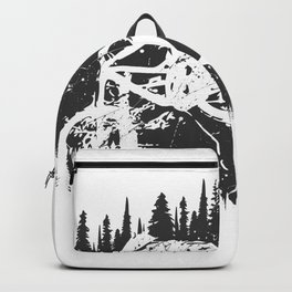 Black Fullface Backpack
