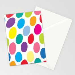 Colour Spots White Stationery Cards
