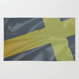 Silk Flag of Saint David Rug