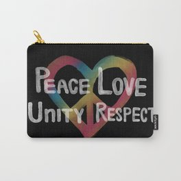 PLUR HEART Carry-All Pouch