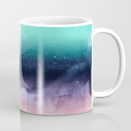 Modern watercolor abstract paint Coffee Mug