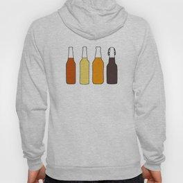 Vintage Beer Bottles Hoody