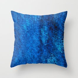 Blue Light III Throw Pillow