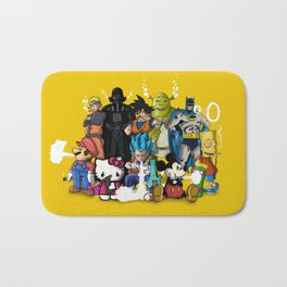 Characters Chilling (yellow) Bath Mat