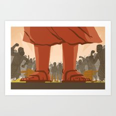 Den of Thieves (by Ward Jenkins) Art Print