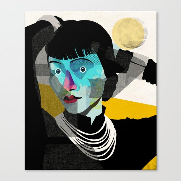 Anna May Canvas Print