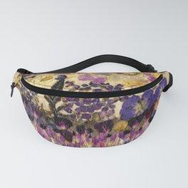 Petals As Paint - Purple Passion Fanny Pack