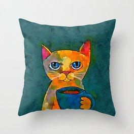 Mug Life Throw Pillow