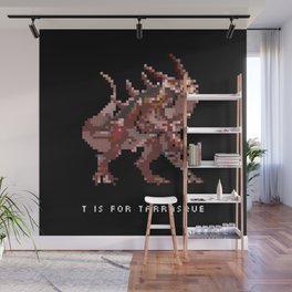 T is for Tarrasque Wall Mural