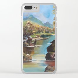Beyond the Creek Clear iPhone Case