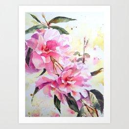 Sweet as Pink Art Print