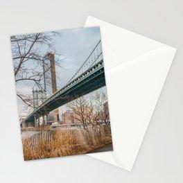 Manhattan Bridge Perspective Stationery Cards