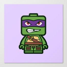 Chibi Donatello Ninja Turtle Canvas Print