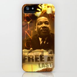 Free At Last iPhone Case