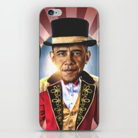 obama iPhone & iPod Skins featuring OBAMA by NOXBIL