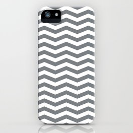 Chevron Navy iPhone Case
