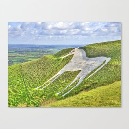 The White Horse. Canvas Print