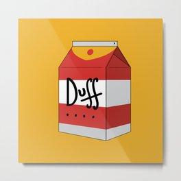 Duff in a box Metal Print