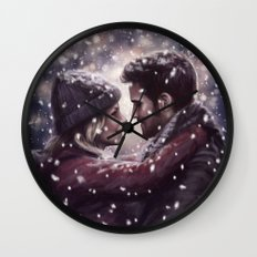 Snow Day Wall Clock