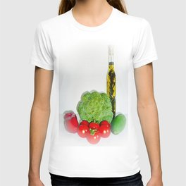 Summer Vegetables with Herb Oil T-shirt