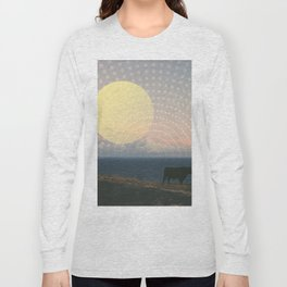 Cow at Sunset Long Sleeve T-shirt