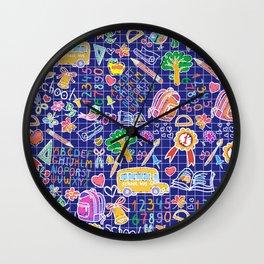 School teacher #7 Wall Clock
