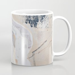 As Restless as the Sea: a minimal abstract painting by Alyssa Hamilton Art Coffee Mug