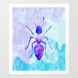 Abstract Ant Art Print